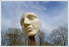 Head in the clouds (Autumnsonata) Tags: trees light sculpture art beauty face wales landscape fun display surrealism memories surreal fantasy dreams ceredigion thesculpturegarden