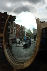 Mirror (Esther Molin) Tags: street ireland sky dublin reflection building window glass ventana mirror espejo reflejo cristal foggydew damestreet upperfownesstreet