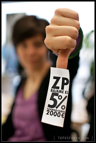 ZP bájame el 5% cuando cobre 2000€