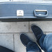 My shoes match my bouzouki case