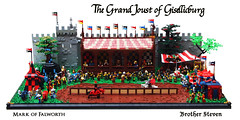 The Grand Joust of Gisellicburg (Mark of Falworth) Tags: 3 book fantastic power lego yeah awesome grand scene medieval dude story creation bro build joust epic moc donenow vision:t