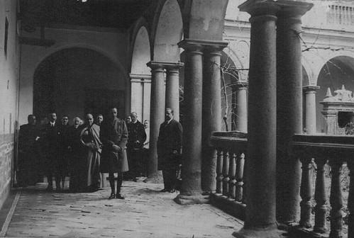 Convento de Santo Domingo el Real de Toledo.  Patio de la Mona y Alfonso XIII, 1933