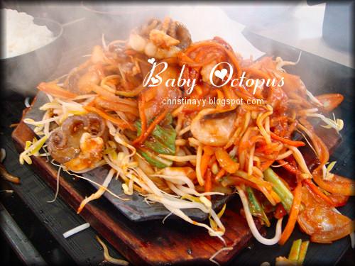 Chinatown Sydney: BBQ Chilli Octopus