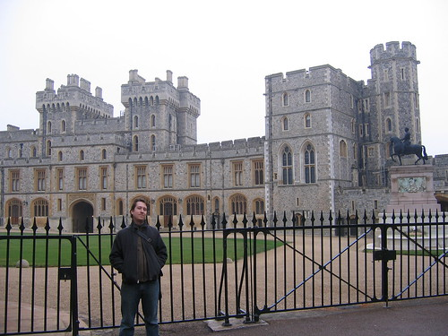 Windsor Castle - the fancy part