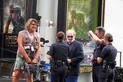LA Cops (jtw73) Tags: skyline la losangeles beverlyhills rodeodrive hollywoodboulevard warnerbrosstudios laskyline lacops friendsfimset erfilmset