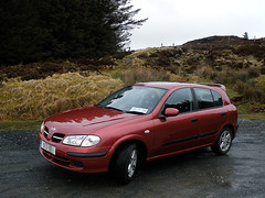 Wicklow Mountains (and our car, heh..)