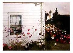Around the Corner, Andrew Wyeth, Brandywine River Museum