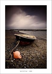 Let's Hear It For The Buoy! (Spiritflier) Tags: canon coast boat sigma 1020 rhosonsea colwynbay northwales cokin buoyant ndgrad eos40d spiritflier landscapesshotinportraitformat simoore