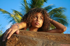 Desty (bakariu) Tags: beach girl plage guadeloupe cocotier caribean gwada westindies desty bakariu