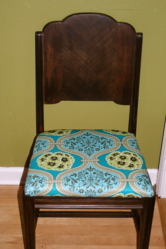 dining chair redo