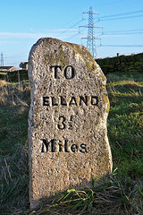 To Elland 3.5 miles