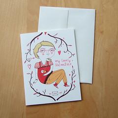 linotte v day girl card
