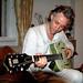 Bob Geldof @ home London