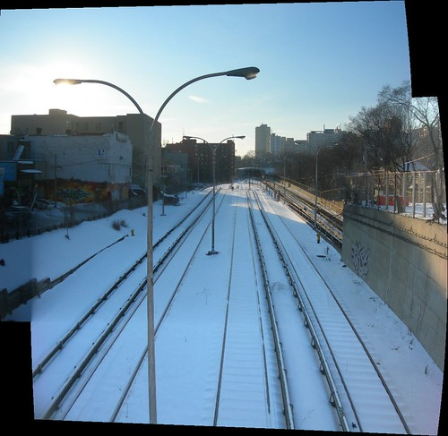 TTC Subway Train Tracks,