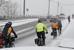 Snowy commute-5