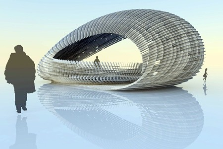 [c]space Pavilion: A Temporary Structure Design by Alan Dempsey and  Alvin Huang