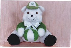 Urso Verde - G209 (Moldes videocurso artesanato) Tags: verde urso g209