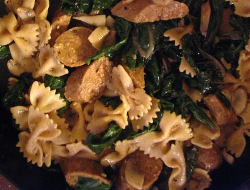 chard and pasta