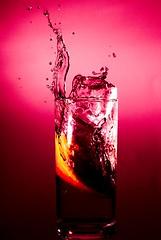 Campari Soda (Martin.Matyas) Tags: red canon canonef50mmf18 wassertropfen abigfave eos400d youscore