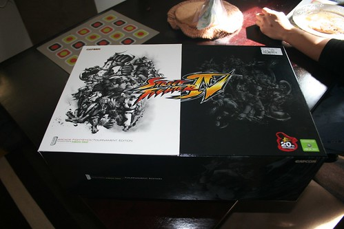Street Fighter IV Tournament Edition FightStick