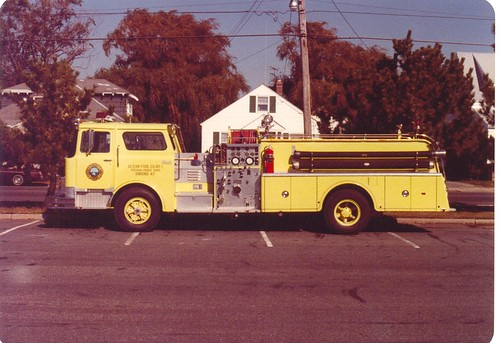 Point Pleasant Beach,  New Jersey  -  Ocean Fire Company No. 1  -  Mack CF Model