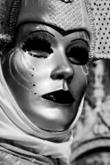 una maschera futurista del passato (Nicola Zuliani) Tags: venice carnevale venezia biancoenero maschere nizu nicolazuliani wwwnizuit