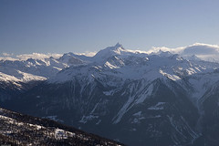 Above Leukerbad (Pavel Vanik) Tags: winter mountains alps nature alpes canon eos schweiz switzerland suisse swiss alpen svizzera alpi wallis valais gmt 30d cubism leukerbad gemmipass 1755is anawesomeshot