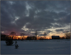 Another cold sunset (Trostan) Tags: winter ontario canada cold port paul 2009 mcalister trostan ryerse
