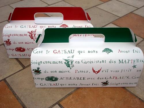 Cream Puff Boxes