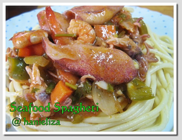 Seafood-Spagheti