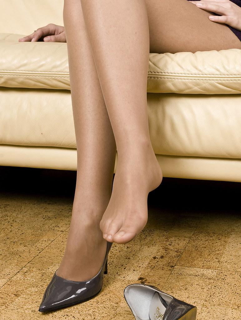 Sandalfoot Pantyhose 56