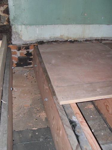 Repaired joists