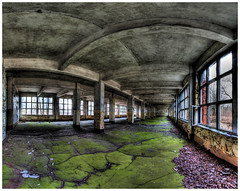 Kaserne in Bernau (DrTeNFeet) Tags: urban panorama nikon forgotten barracks brandenburg hdr verlassen kaserne urbex bernau 3xp photomatrix hdrpanorama hdraward urbexers drtenfeet