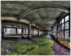 Kaserne in Bernau (DrTeNFeet) Tags: urban panorama nikon forgotten barracks brandenburg hdr verlassen kaserne urbex bernau 3xp photomatrix hdrpanorama hdraward urbexers drtenfeet