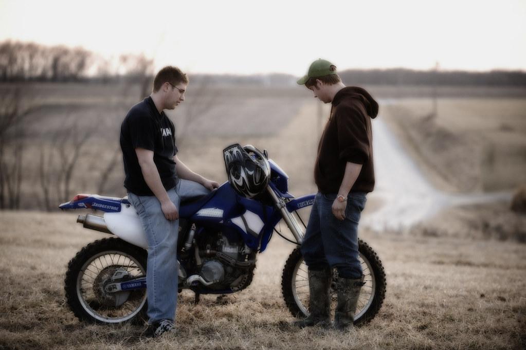 The Devil's Dirt bike