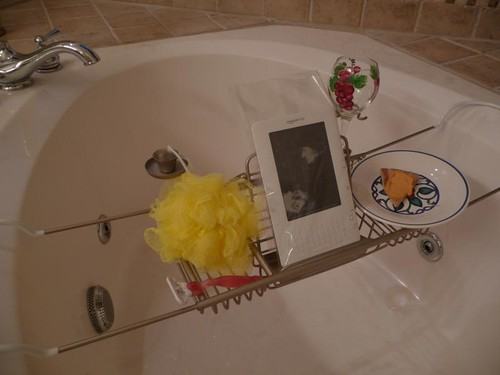 Kindle at the Bathtub