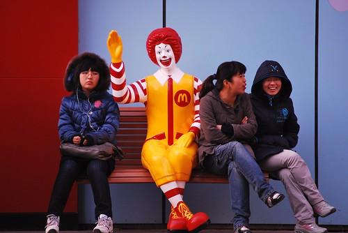 Sentadas con Ronald