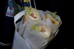 Caprese Sandwich on Baguette