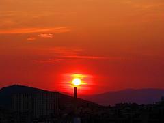 #31/09-SUNSET (emasplit) Tags: sunset orange emasplit explore2009