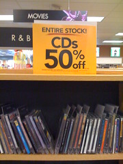 The end is nigh for music and DVDs at Borders