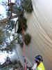 Sneaking under an overhanging enda…