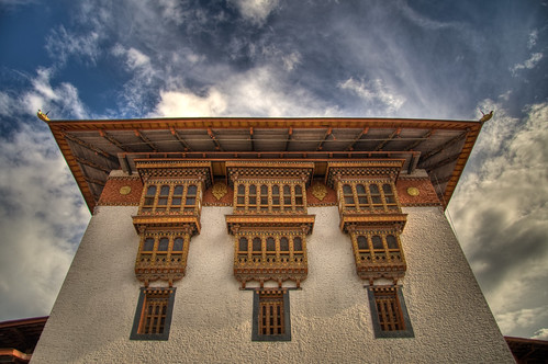 Main Utse in the Punakha Dzong