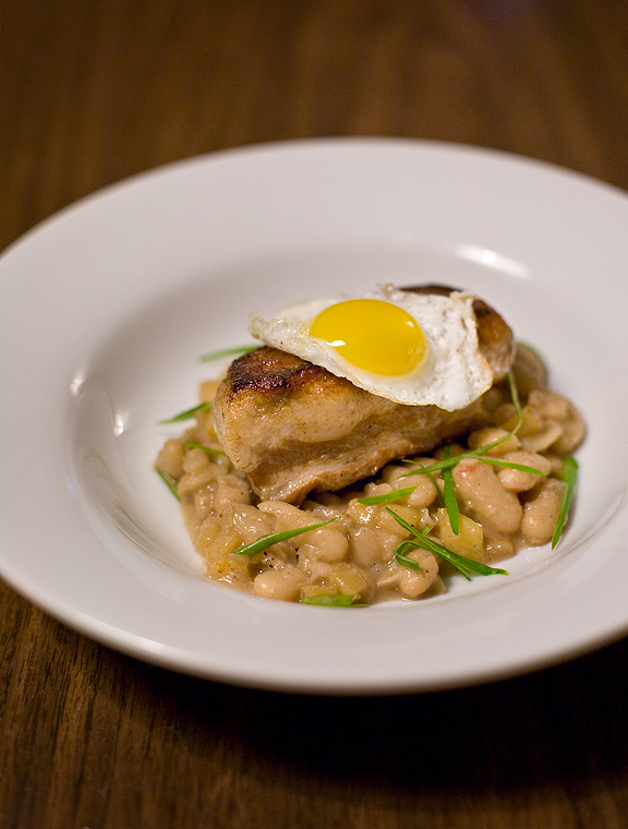 Porchestra Braised Pork Belly with Quail Eggs & Cannellini Beans
