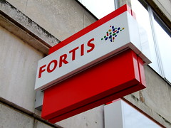 Fortis sign, Ronse
