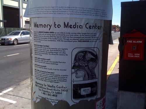 Memory to Media Center
