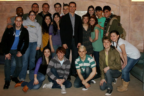 Spring Awakening Cast with Premier Dalton McGuinty of Canada