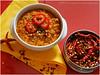 Linsen Chili | Lentil Chili (Soupflower's Blog) Tags: food recipe blog nikon chili foto picture onions peppers coriander cumin paprika lentils lentil kreuzkümmel zwiebeln chiliconcarne linsen hackfleisch rezept koriander d80 faschiertes wwwsoupflowercomblog