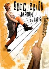 2º Versión moderna del cartel de Jane Avril por Toulouse Lautrec (Druga) Tags: orange paris poster de punk artist arte jane boots arts jardin montaje avril naranja cartel artista botas