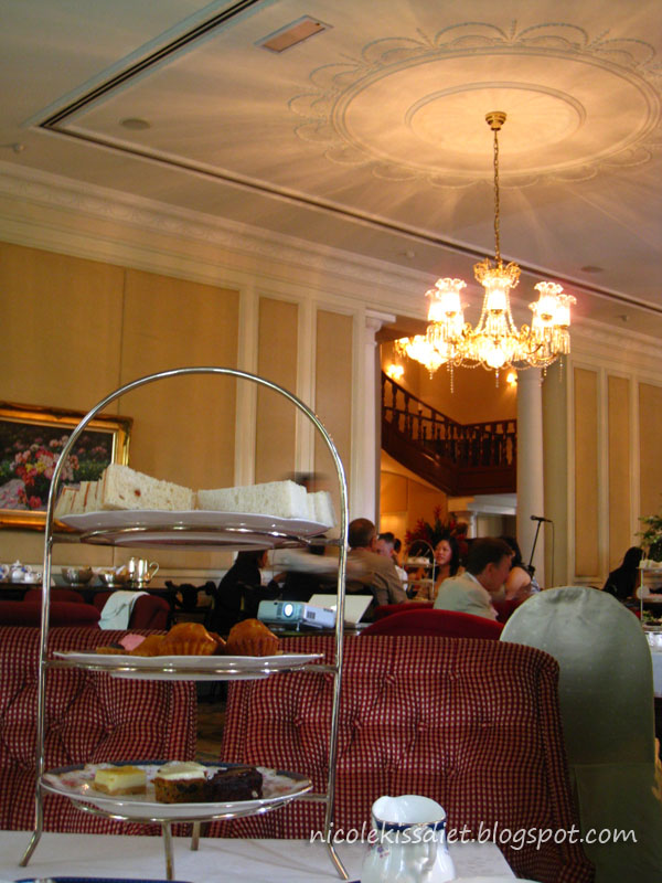 afternoon tea ambience