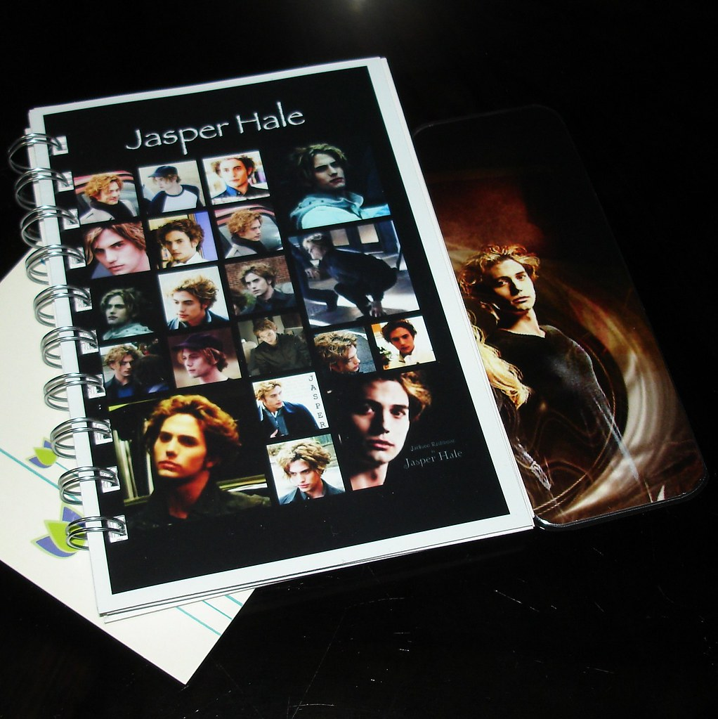 Jasper Hale Custom Photo Collage Book